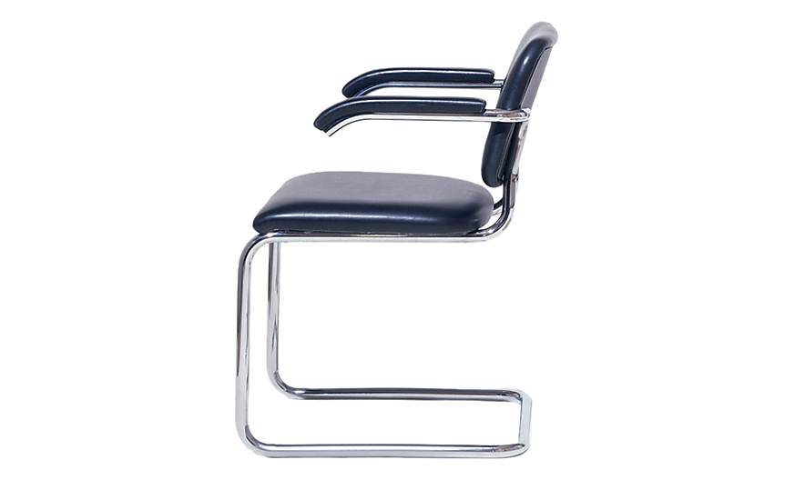tubular steel chair