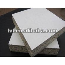 Tablero aglomerado blanco de la melamina de la alta densidad