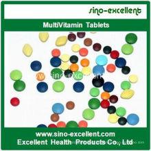 Immun- und Anti-Müdigkeit-Multivitamin-Tablette
