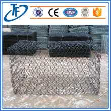 Double twist wire mesh gabion mattress
