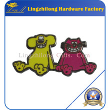 Enamel Cute Metal Animal Laplel Pin