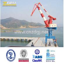 Made in China Rail monté flottant quai Port de mer pont-roulant fournisseur