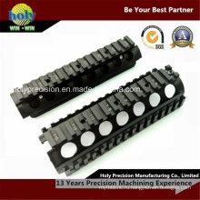 CNC подвергая механической обработке фотографических аксессуаров ЧПУ Алюминиевый чехол с черный анодированный