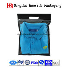Direkte Fabrik Kunststoff kurze Shirt Kleidung Verpackung Tasche
