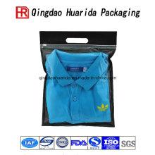 Bolso corto plástico de la fábrica de la camisa corta de la fábrica directa