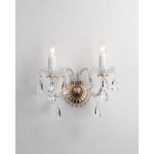 Lámparas de pared de cristal clásicas del dormitorio moderno del estilo europeo