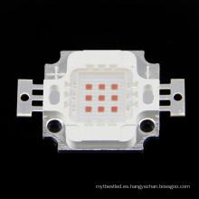 6-7v 10w chip de led amarillo integrado de alta potencia LED Bead