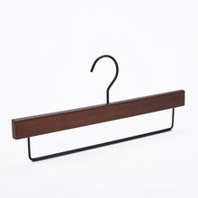 High quality classical antique wooden pants hanger customized oem
