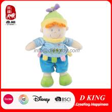 El bebé suave modificado para requisitos particulares de la muchacha del muchacho juega muñecas rellenas de la felpa