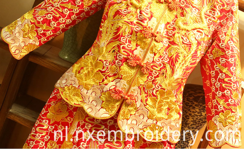 hand embroidered wedding dresses