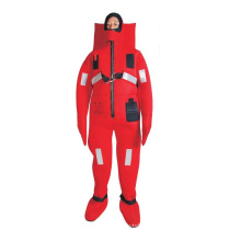 high quality rescue suit,thermal insulation SOLAS immersion suit
