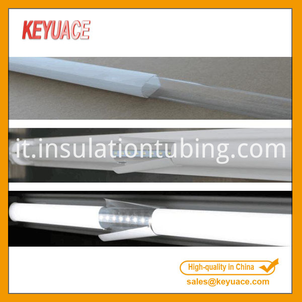 T5 T8 T10 LED Fluorescent Diffusion Protective Sleeve