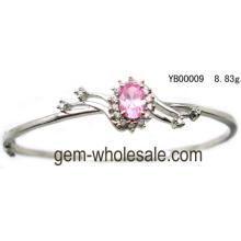 Zircon argent bracelet bijoux (YB00009)