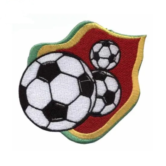 New Design Soccer Embroidery
