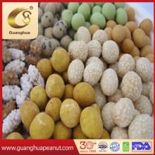 White Sesame-Coated Peanuts in Bulk Peanut Leisure Snack