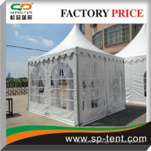 Charming Small size Wedding Marquee Party tents with linings and drappings