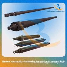 Mehrstufiger hydraulischer Teleskopzylinder für Muldenkipper