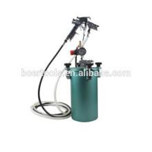 Tanque da pintura do tanque da pintura do tanque de pressão da pintura do ar 5L mini com arma de pulverizador