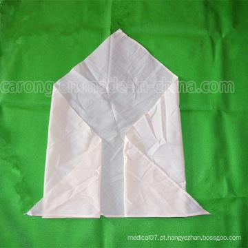 Bandagem médica triangular descartável para uso hospitalar