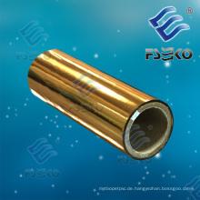Goldener metallischer schützender thermischer lamellierender Film für lamellierende Box, Publikationen