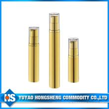 Hs-003A garrafa vazia pequena da amostra da superfície 5ml 10ml 15ml UV para a embalagem dos cuidados com a pele