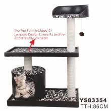 Árbol de lujo del gato, árbol vendedor caliente del gato (YS83355)
