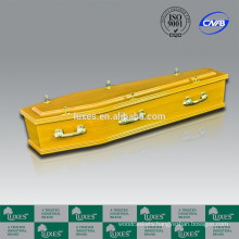 Yellow Coffins LUXES Great Quality Australian Style Casket A30-GSF