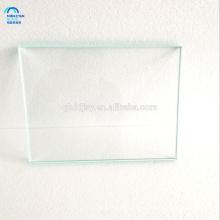 Vidrio de seguridad templado claro para la tapa de tabla con los bordes pulidos redondos / planos