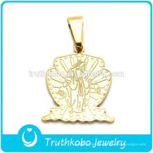 Truthkobo Los últimos colgantes significativos y claros diseñan un colgante de oro católico milagroso María Madre de Dios