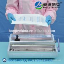 Dispositivo médico Bolsa de papel de esterilización para auoclaving