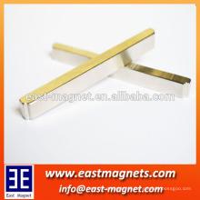 N35 Streifen permanent Magnet mit speziellen Seiten / ndfeb Streifen Magnet Fabrik / lange Neodym Magnet zum Verkauf