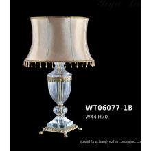 Modern Brass Crystal Fancy Table Lamp (WT06077-1B)