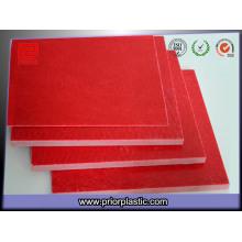 Gpo-3 feuille de stratifié rouge pour Switchgears