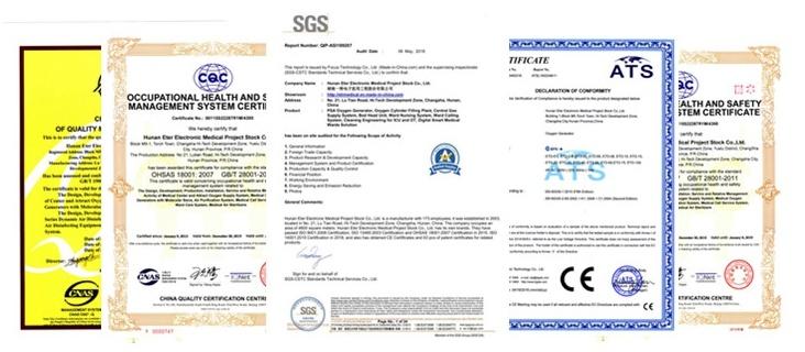Eter Certificates