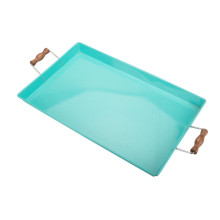 Party Garden Square Metal Tray