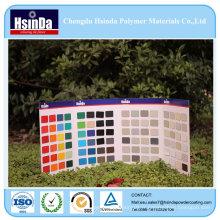 Texture de gros rides bonne décoration divers revêtement de poudre de pulvérisation de couleur