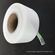 Building fixed board joint glass fiber tape