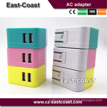 Dual USB 2.1A+1A Home Wall Charger Power Charging Adaptor
