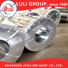 Herstellung von regelmäßigen Spangle heißen tauchte galvanisierte Stahlspule HDG Spule Gi Dachbahn