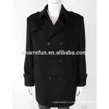 Новая Мода Мужская Зима 100% Чистого Кашемир Пальто
