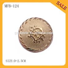 MFB124 gros mode couturière en métal pour veste