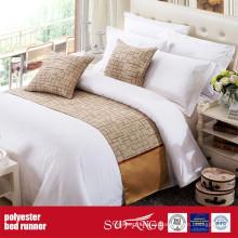 Tela de decoración poli Colorido cama Runner