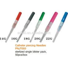 Top quality professional catheter piercing needle