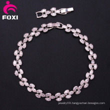 Factory Price Bass Copper White Stone Bracelets