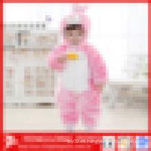 Promocional Invierno cálido Plain conejo de animales en forma de bebé romper