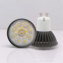 Projecteur LED GU10 3W 85-265V blanc chaud