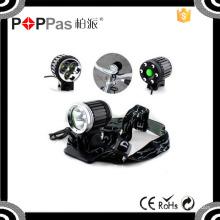 Poppas Yzl804 Luz de bicicleta de boa qualidade com 3 Xm-L T6 Luz de bicicleta à prova d'água