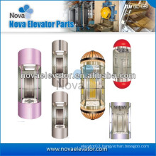 Panoramic Elevator Cabin/ Elevator Cabin/ Elevator for Panoramic Elevators and Lifts