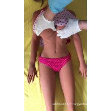 2018 nouveau visage 158cm Sexy Girl Love Dolls Réaliste vraie poupée de sexe en silicone