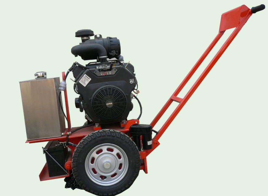 Grooving Machine for Asphalt Concrete Pavement